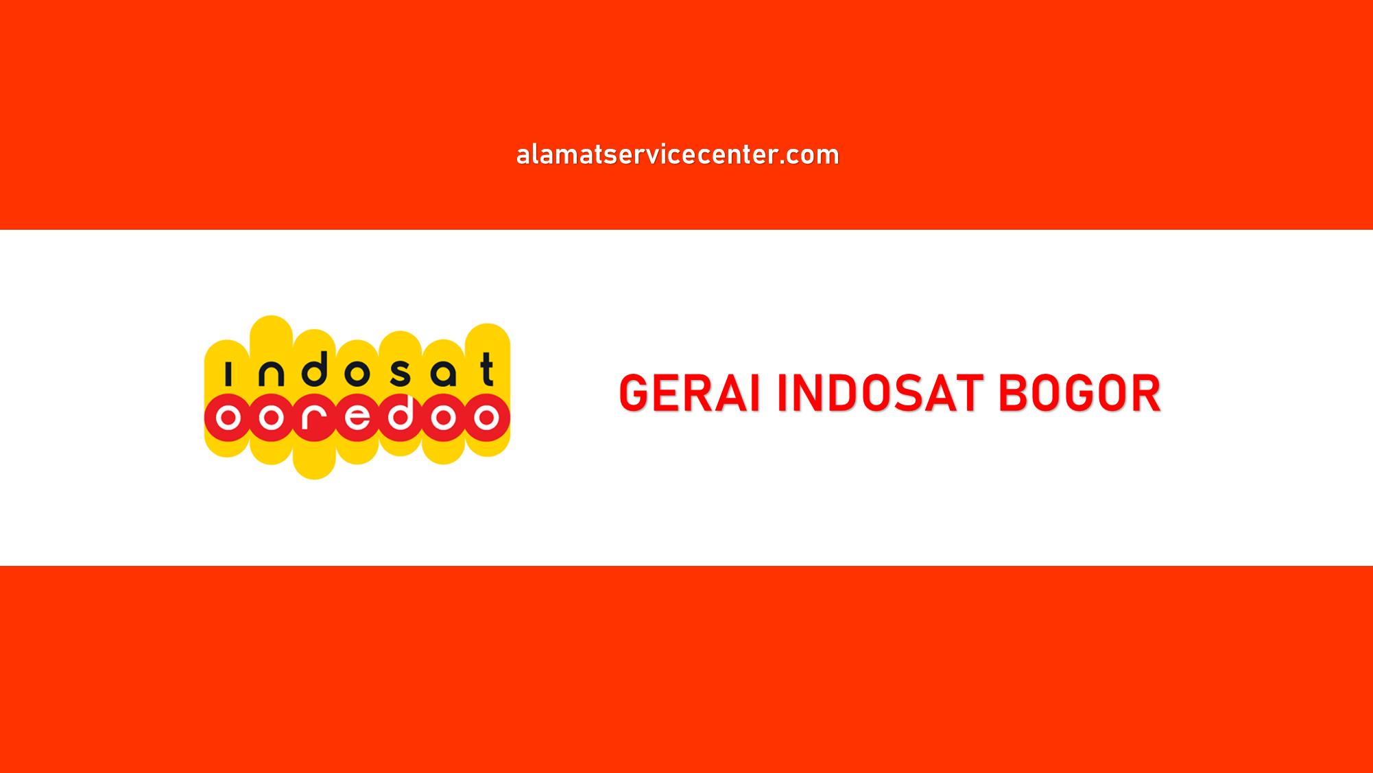 Gerai Indosat Bogor