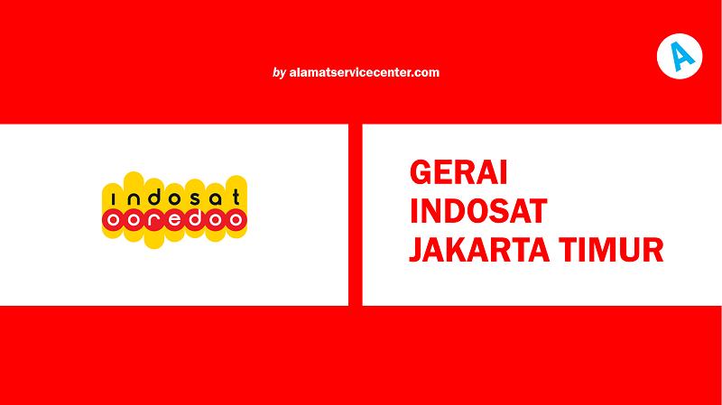 Gerai Indosat Jakarta Timur
