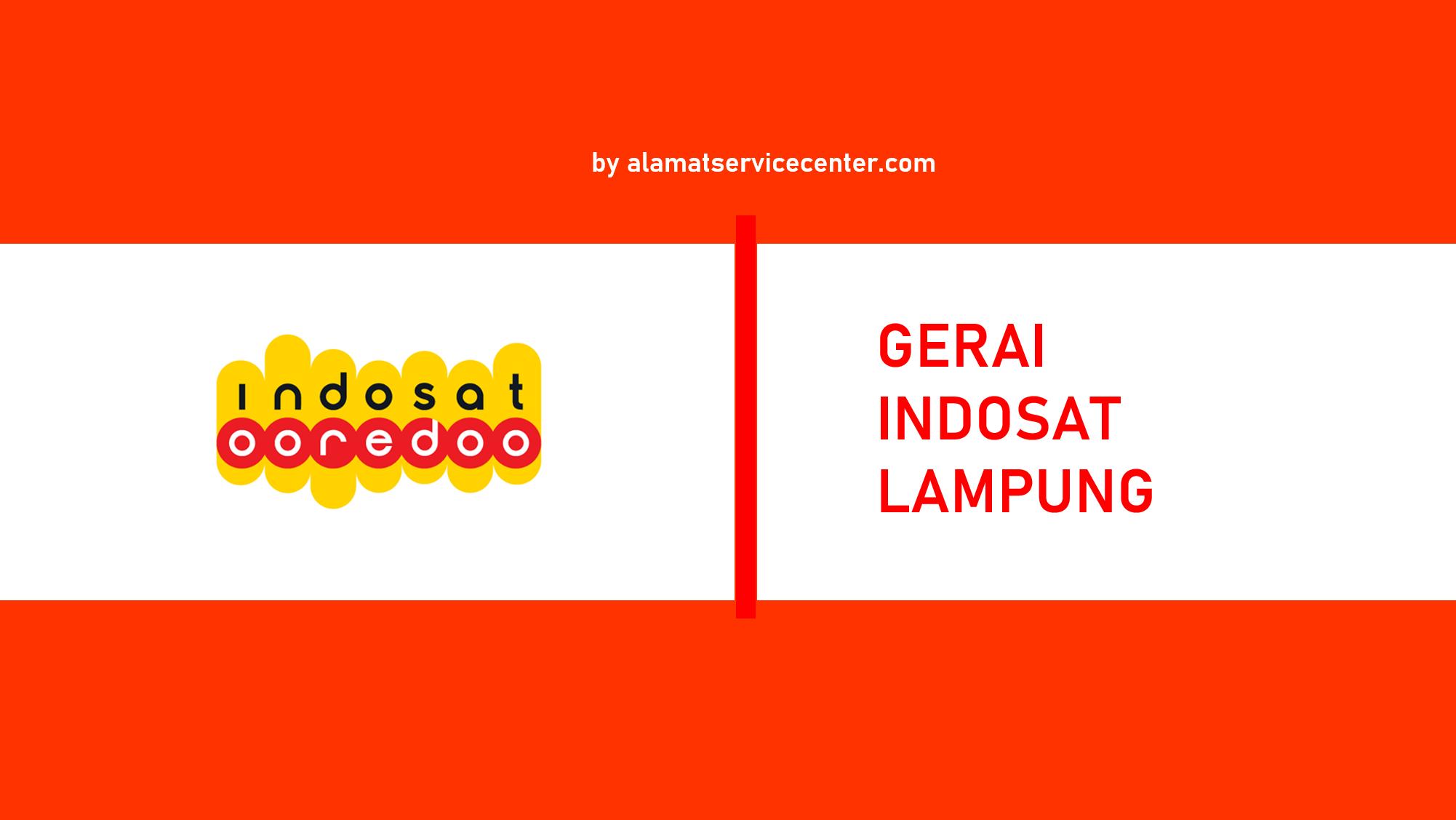 Gerai Indosat Lampung