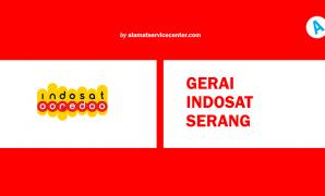 Gerai Indosat Serang